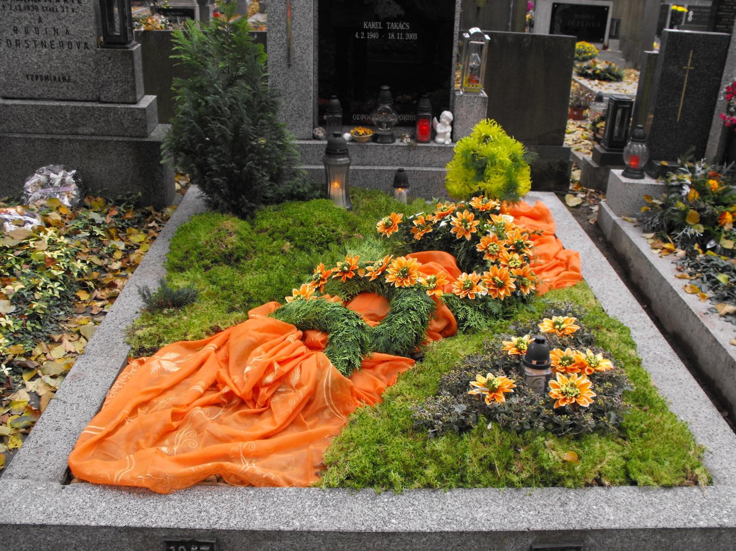 Úprava hrobů